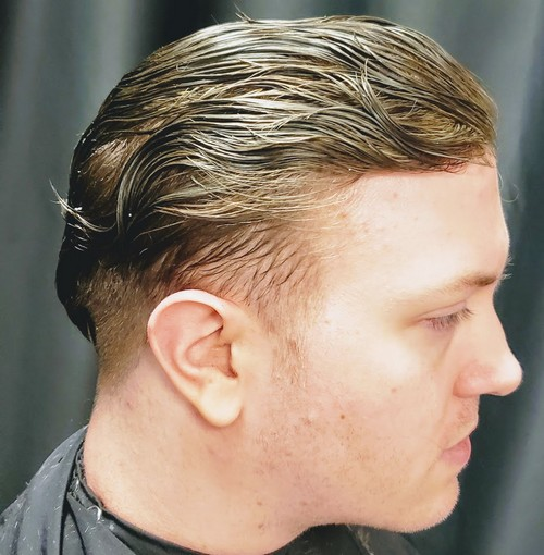 Sandy Blonde Man Weave Unit Toupee