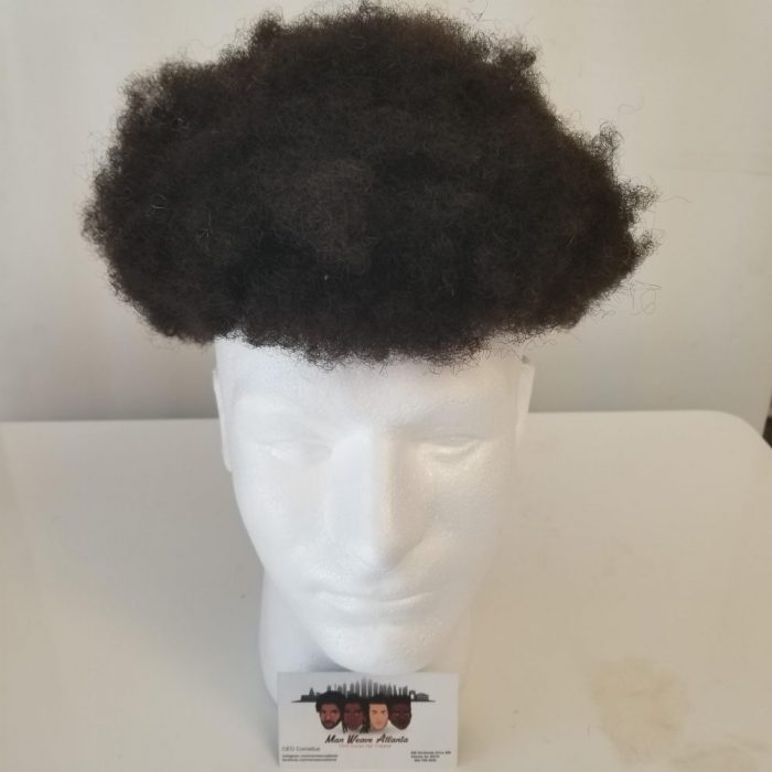 1mm to 2mm Man Weave Afro