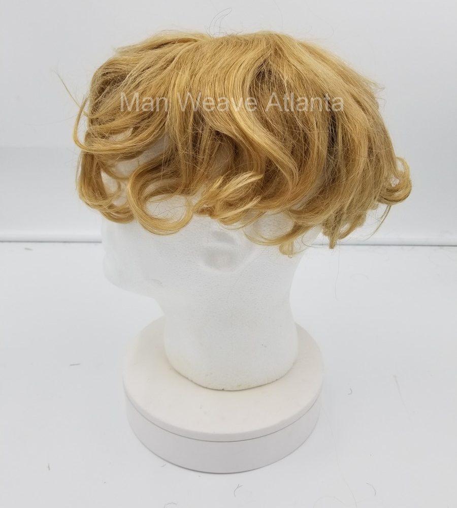 Blonde Naturally Wavy Man Unit